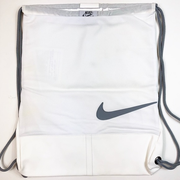 Air Force One Backpack White Gray